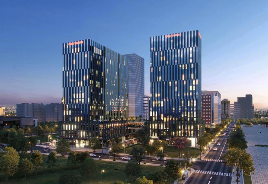 Hòa Bình khởi công cao ốc 20 tầng ở khu Nam Sài Gòn - Ảnh 2.
