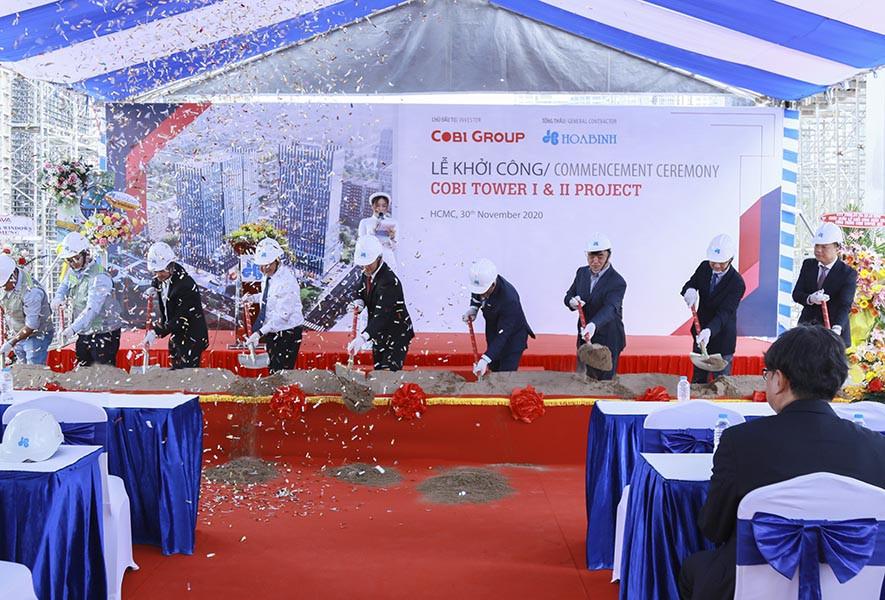 Hòa Bình khởi công cao ốc 20 tầng ở khu Nam Sài Gòn - Ảnh 1.