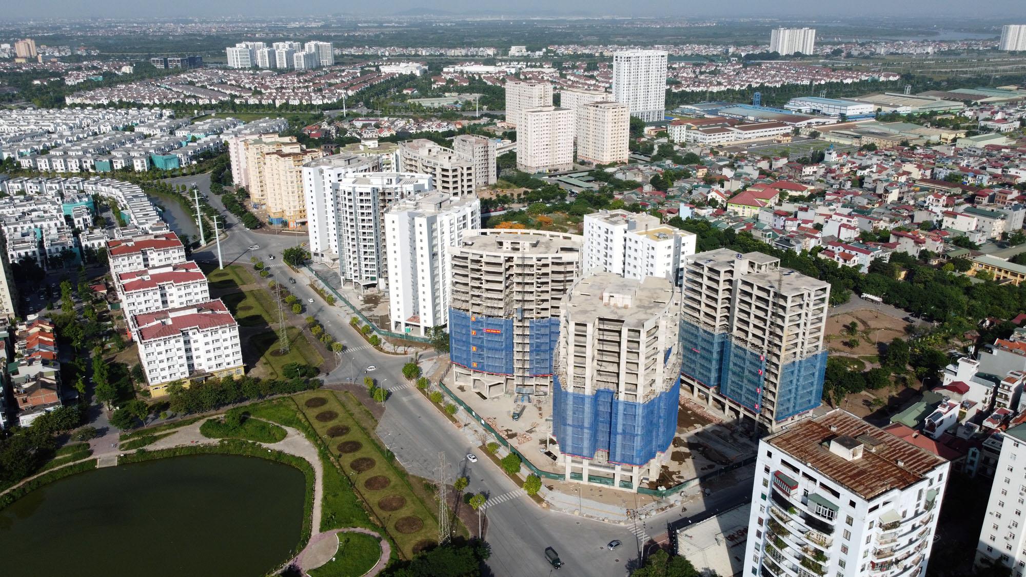 Vùng ven Hà Nội xuất hiện dự án chung cư giá bán 50 - 60 triệu đồng/m2 - Ảnh 1.
