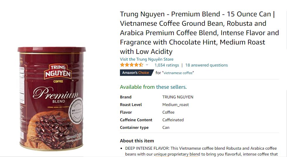 Các sản phẩm Việt ngày càng đắt hàng trên Amazon - Ảnh 2.