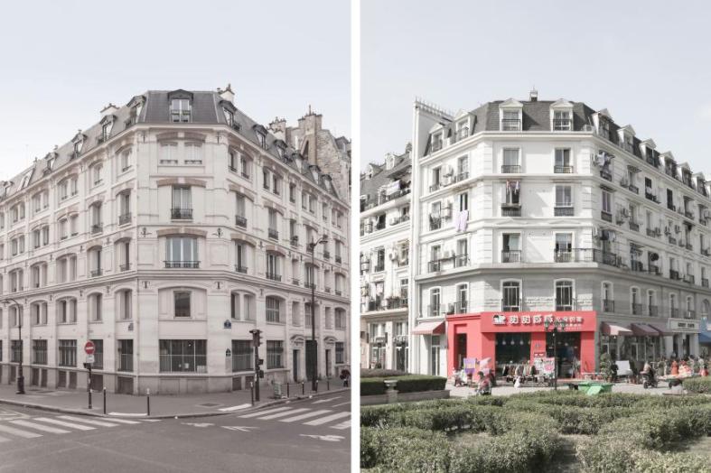 Khám phá Paris thu nhỏ giữa lòng Trung Quốc qua bộ ảnh độc đáo của nhiếp ảnh gia người Pháp - Ảnh 1.
