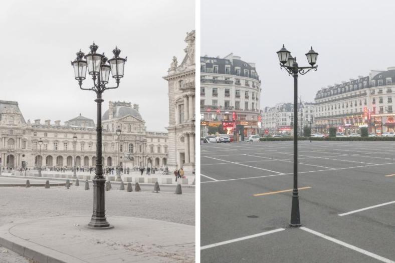 Khám phá Paris thu nhỏ giữa lòng Trung Quốc qua bộ ảnh độc đáo của nhiếp ảnh gia người Pháp - Ảnh 2.