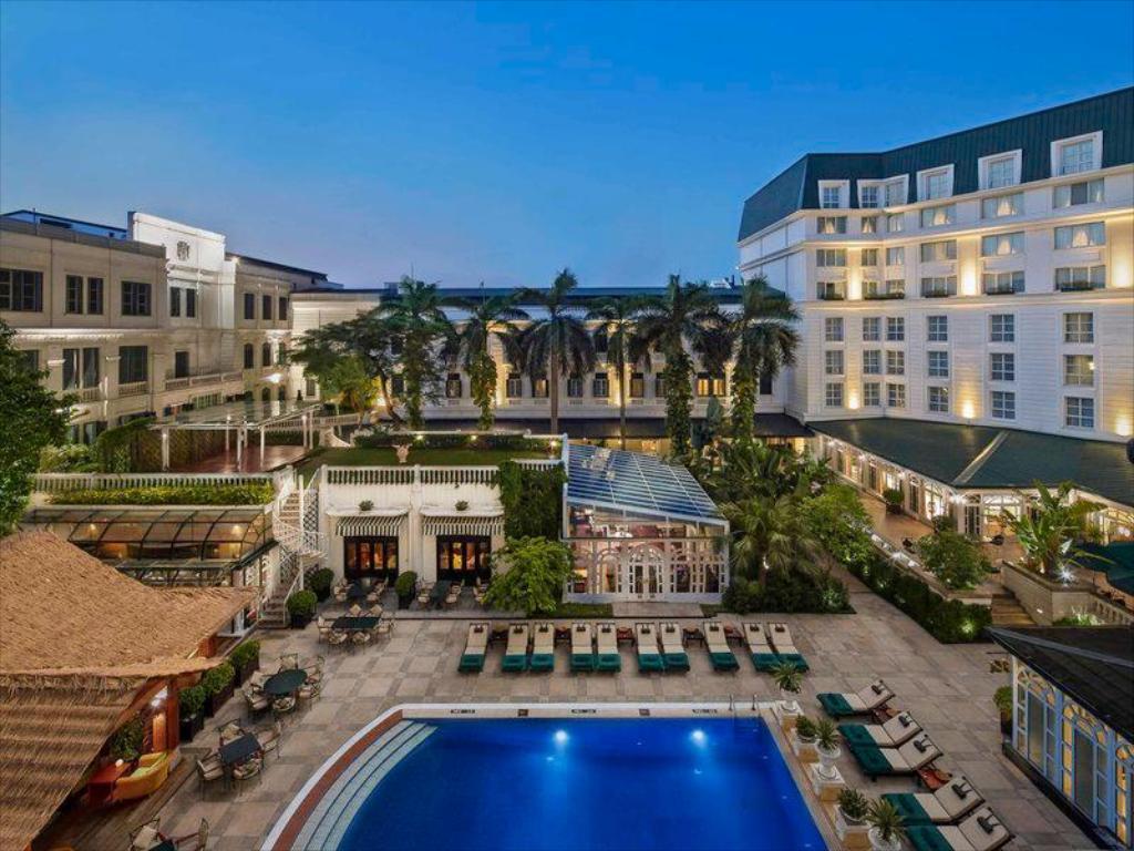 Khách sạn tổng thống Mỹ Donald Trump từng ở khi đến Việt Nam  - Ảnh 1.