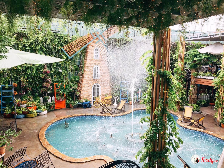 5 quán cà phê sân vườn thích hợp làm địa điểm họp lớp ngày 20/11 ở TP HCM - Ảnh 11.