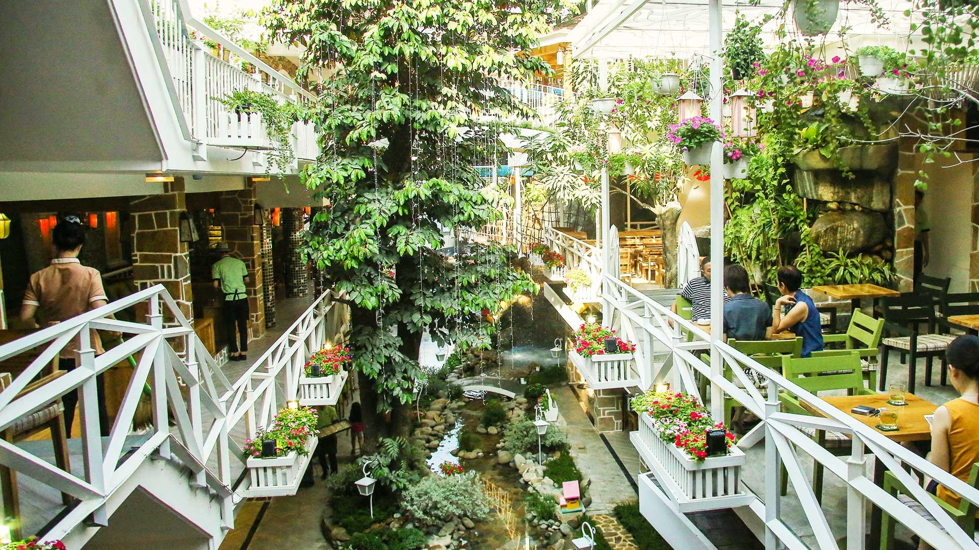 5 quán cà phê sân vườn thích hợp làm địa điểm họp lớp ngày 20/11 ở TP HCM - Ảnh 2.