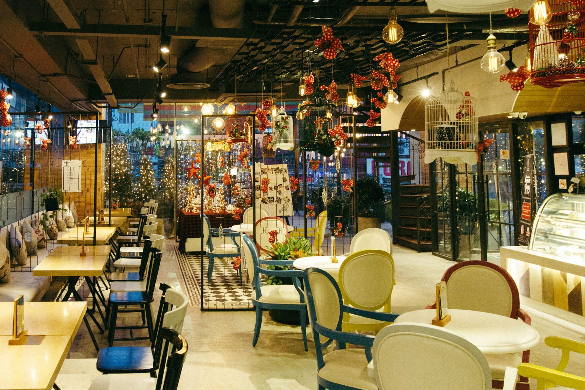 5 quán cà phê sân vườn thích hợp làm địa điểm họp lớp ngày 20/11 ở TP HCM - Ảnh 18.