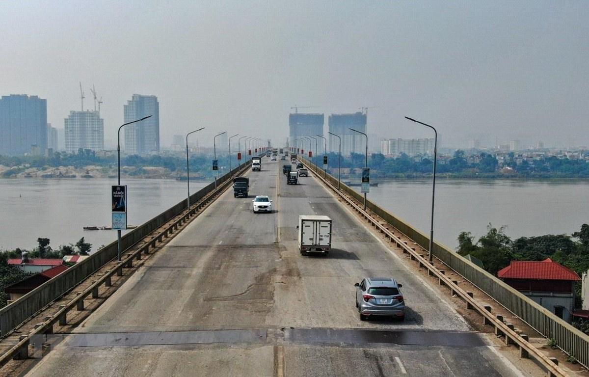 Dự án sửa chữa mặt cầu Thăng Long đã giải ngân hơn 124 tỉ đồng, sẽ hoàn thành vào cuối năm 2020 - Ảnh 1.