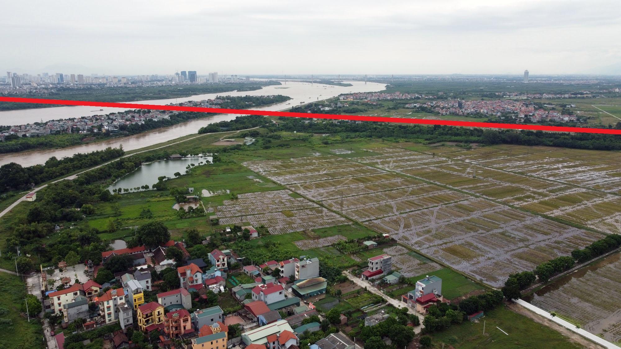 đường sẽ mở theo qui hoạch ở xã Đông Hội, Đông Anh, Hà Nội - Ảnh 3.