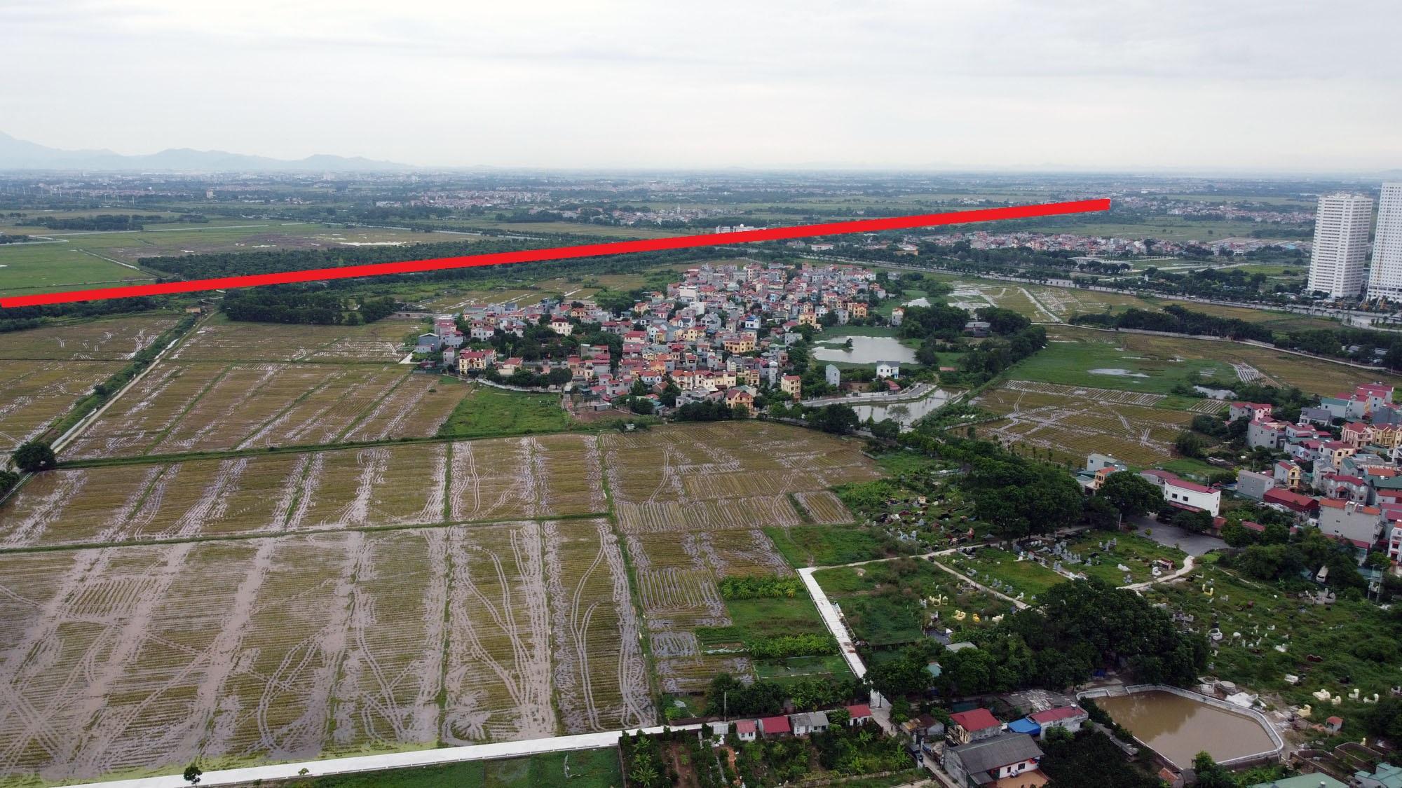 đường sẽ mở theo qui hoạch ở xã Đông Hội, Đông Anh, Hà Nội - Ảnh 5.