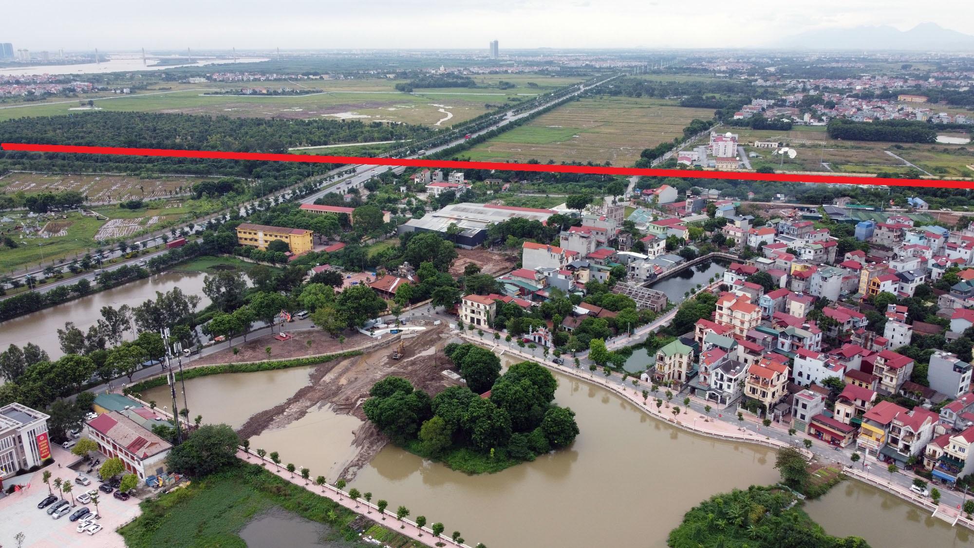 đường sẽ mở theo qui hoạch ở xã Đông Hội, Đông Anh, Hà Nội - Ảnh 6.