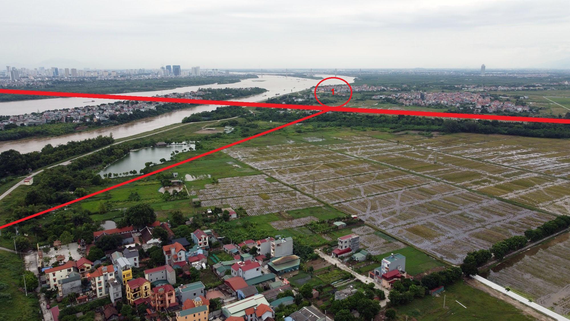 đường sẽ mở theo qui hoạch ở xã Đông Hội, Đông Anh, Hà Nội - Ảnh 9.