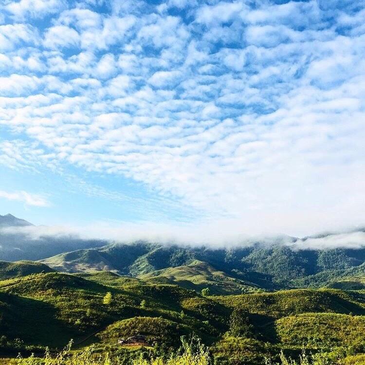 Ngã ba biên giới A Pa Chải, cung đường phượt ấn tượng giữa núi rừng Điện Biên - Ảnh 7.