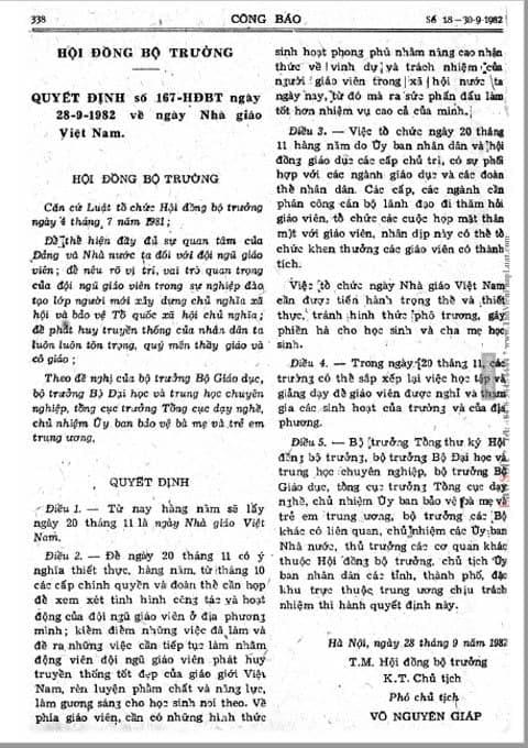 Tìm hiểu về lịch sử hình thành ngày Nhà giáo Việt Nam 20/11 - Ảnh 5.