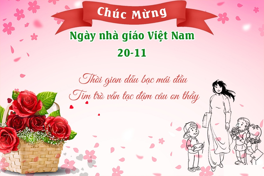 Tổng hợp 15 mẫu thiệp chúc mừng ngày 20/11 đẹp dành tặng thầy cô - Ảnh 13.