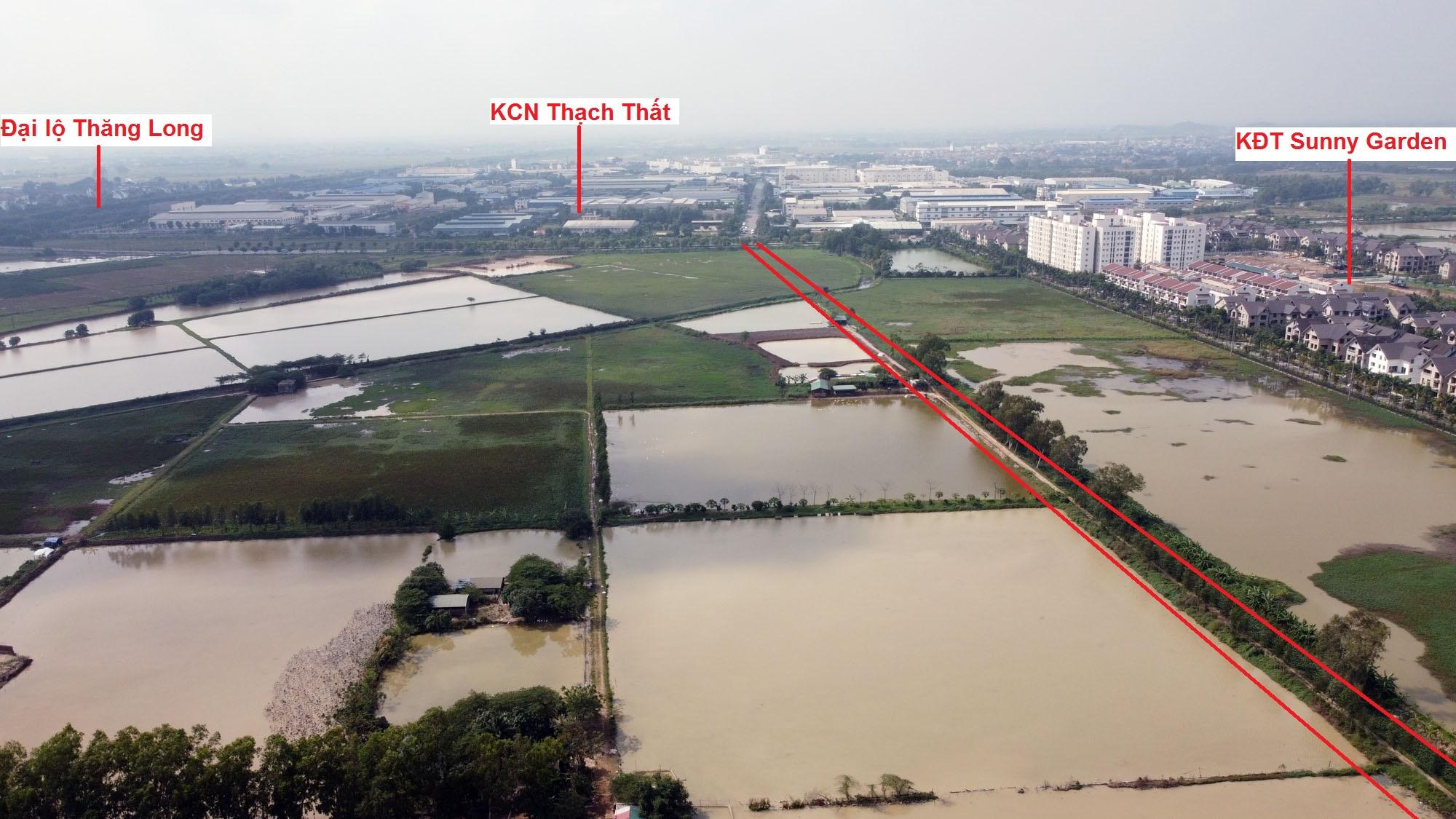 Ba đường sẽ mở theo qui hoạch ở xã Phượng Cách, Quốc Oai, Hà Nội - Ảnh 3.