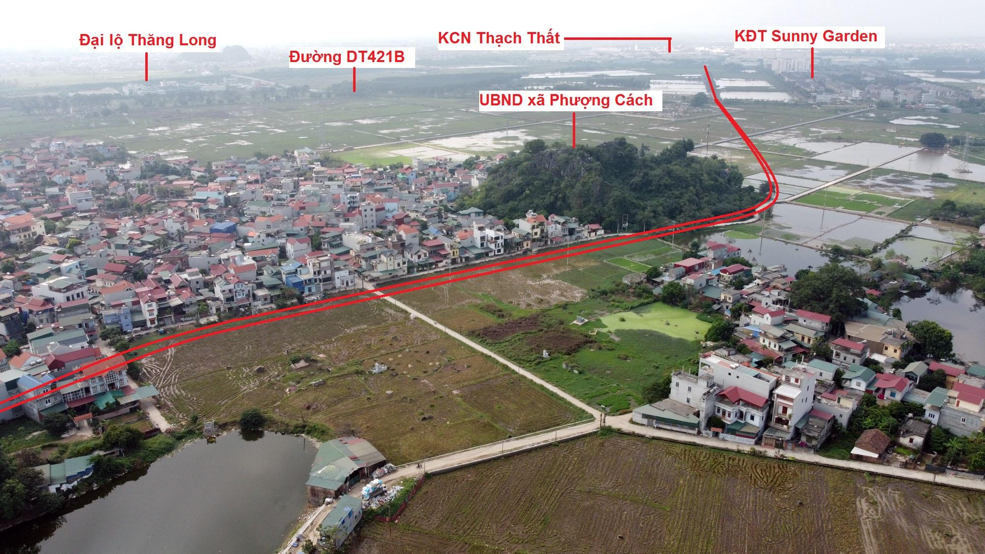 Ba đường sẽ mở theo qui hoạch ở xã Phượng Cách, Quốc Oai, Hà Nội - Ảnh 6.