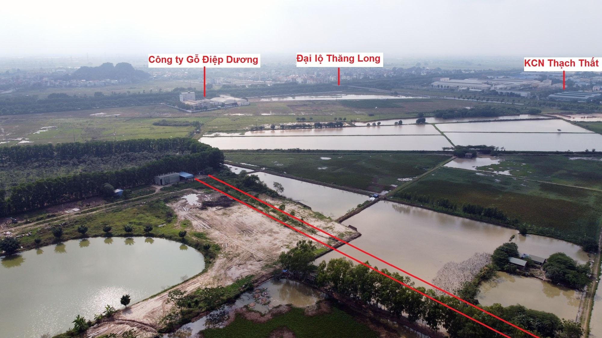 Ba đường sẽ mở theo qui hoạch ở xã Phượng Cách, Quốc Oai, Hà Nội - Ảnh 10.