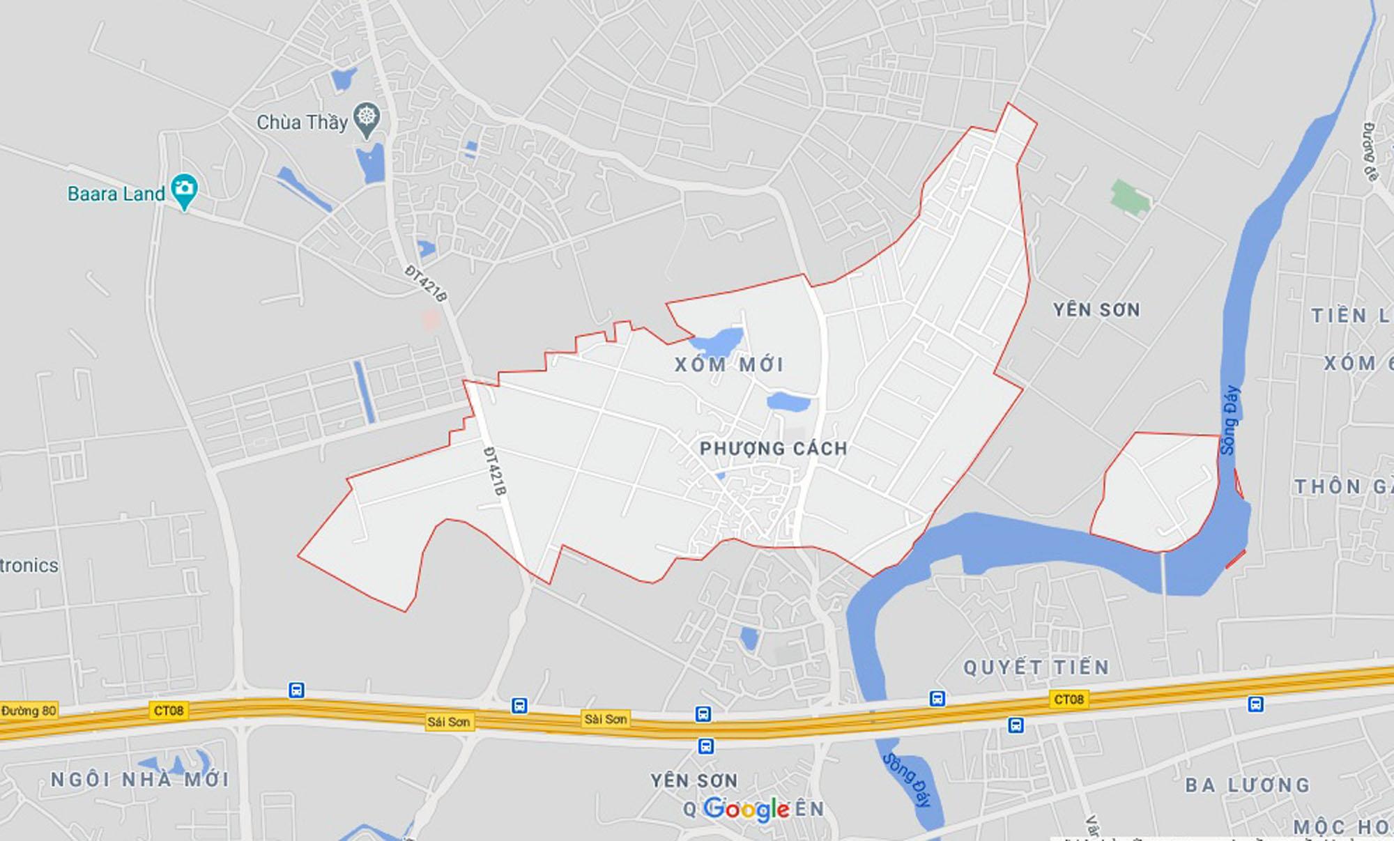 Ba đường sẽ mở theo qui hoạch ở xã Phượng Cách, Quốc Oai, Hà Nội - Ảnh 1.