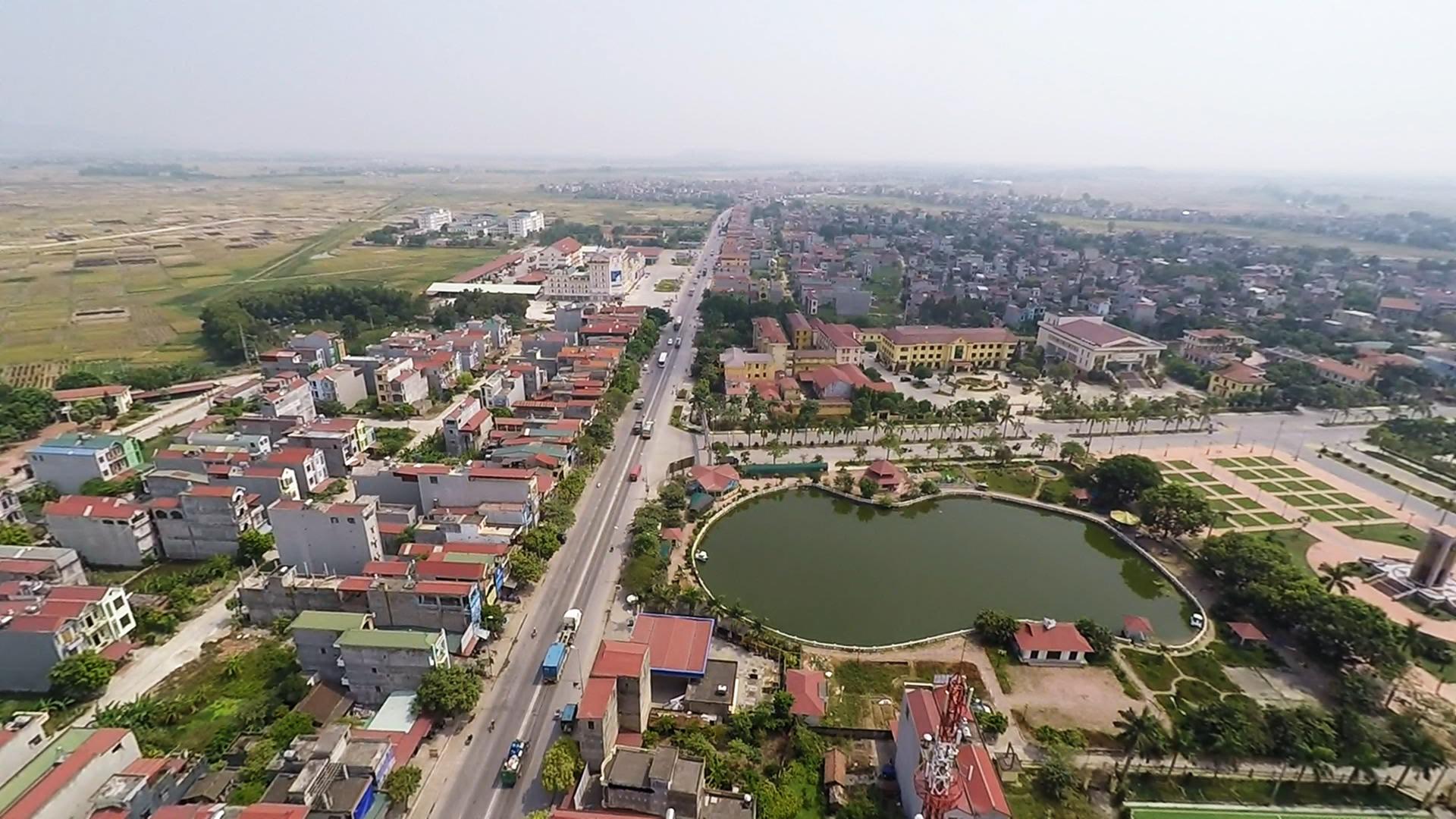Bắc Ninh duyệt đồ án qui hoạch khu đô thị gần 50 ha tại huyện Quế Võ - Ảnh 1.