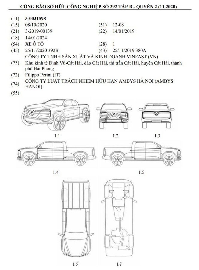 VinFast muốn làm xe bán tải - Ảnh 1.