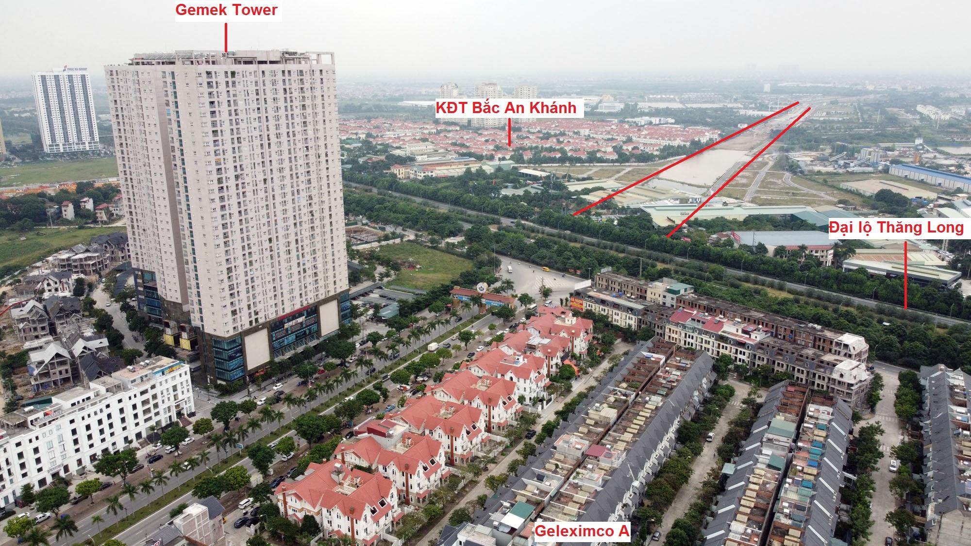 đường sẽ mở theo qui hoạch ở xã An Khánh, Hoài Đức, Hà Nội - Ảnh 3.