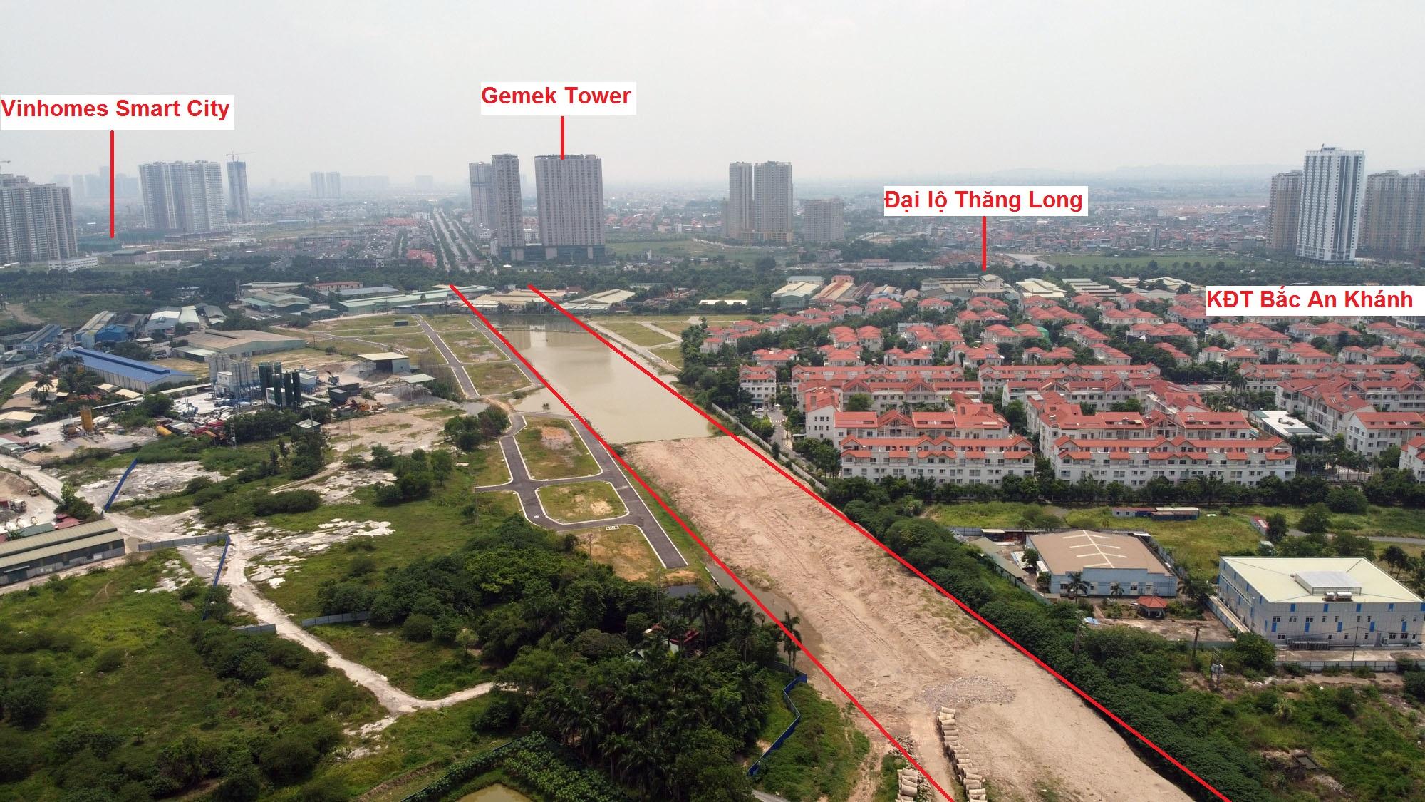 đường sẽ mở theo qui hoạch ở xã An Khánh, Hoài Đức, Hà Nội - Ảnh 4.