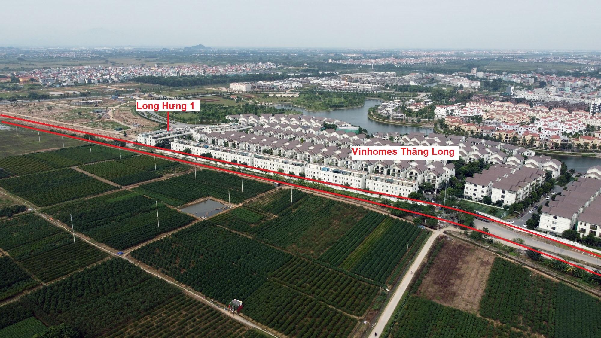 đường sẽ mở theo qui hoạch ở xã An Khánh, Hoài Đức, Hà Nội - Ảnh 6.