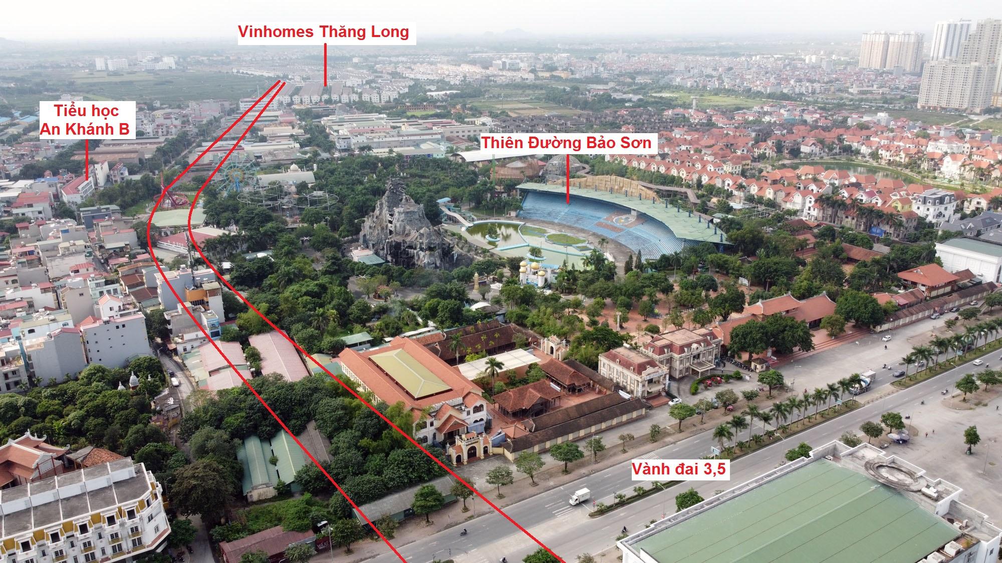 đường sẽ mở theo qui hoạch ở xã An Khánh, Hoài Đức, Hà Nội - Ảnh 9.