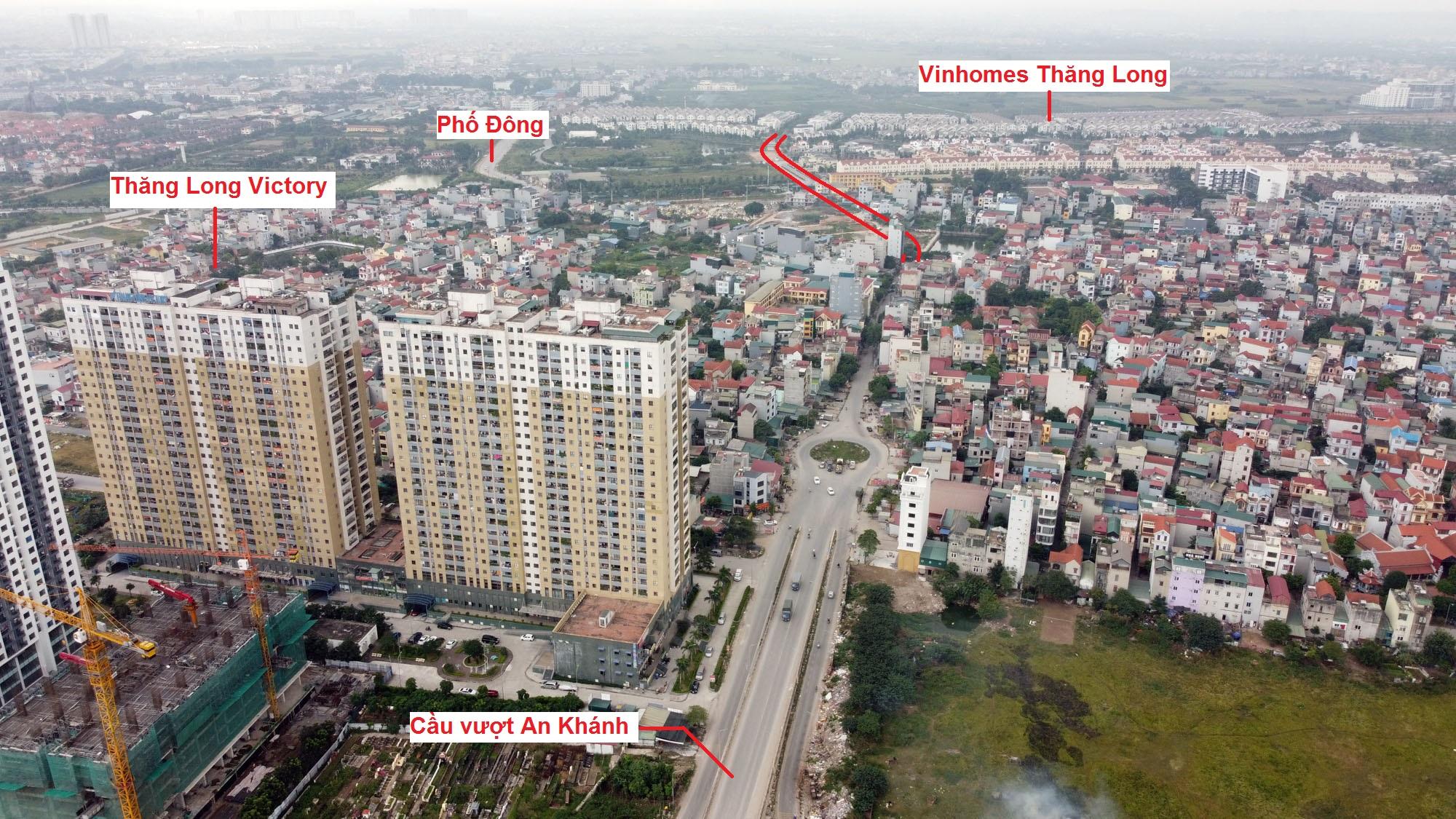 đường sẽ mở theo qui hoạch ở xã An Khánh, Hoài Đức, Hà Nội - Ảnh 12.