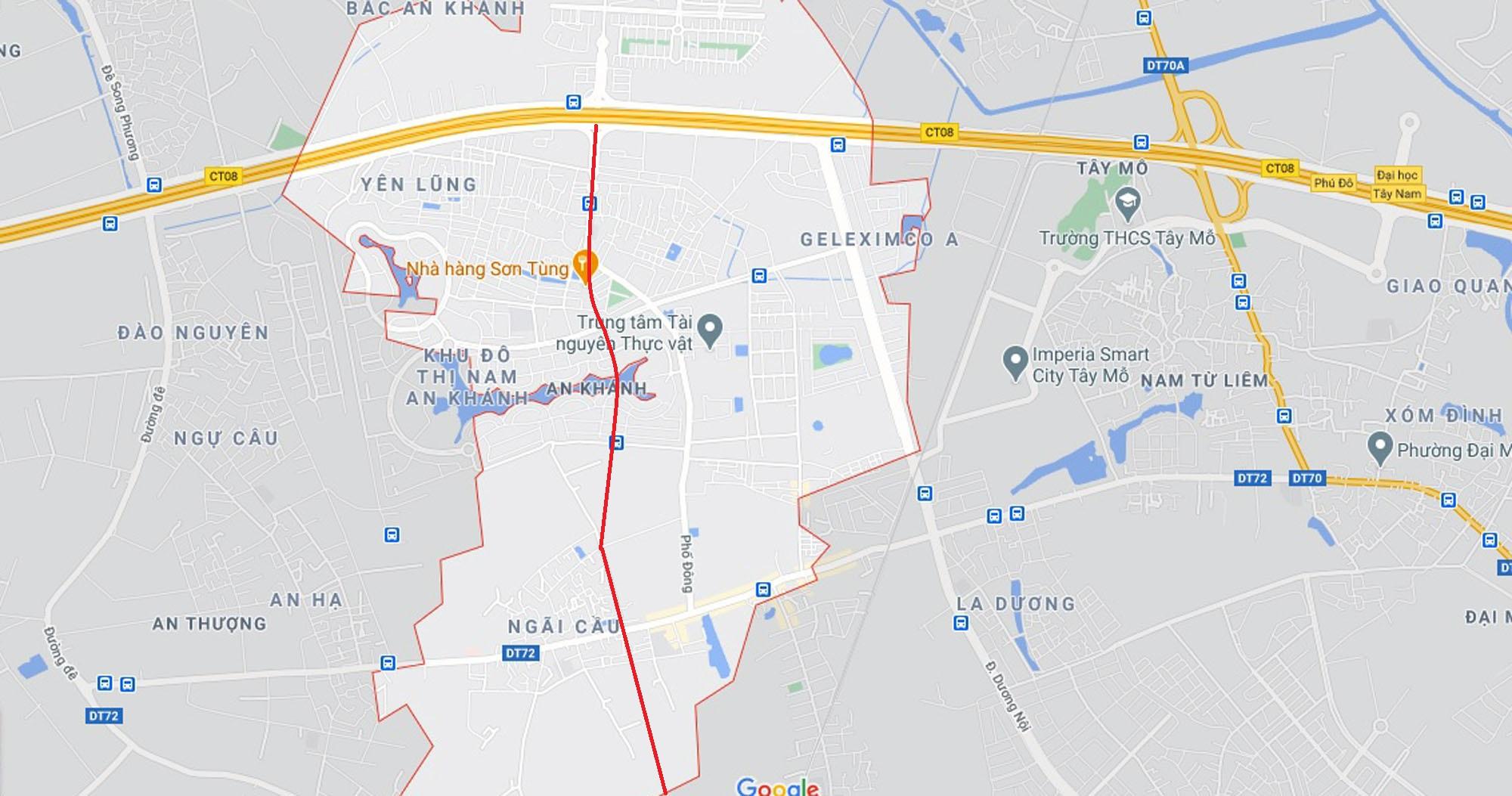 đường sẽ mở theo qui hoạch ở xã An Khánh, Hoài Đức, Hà Nội - Ảnh 11.