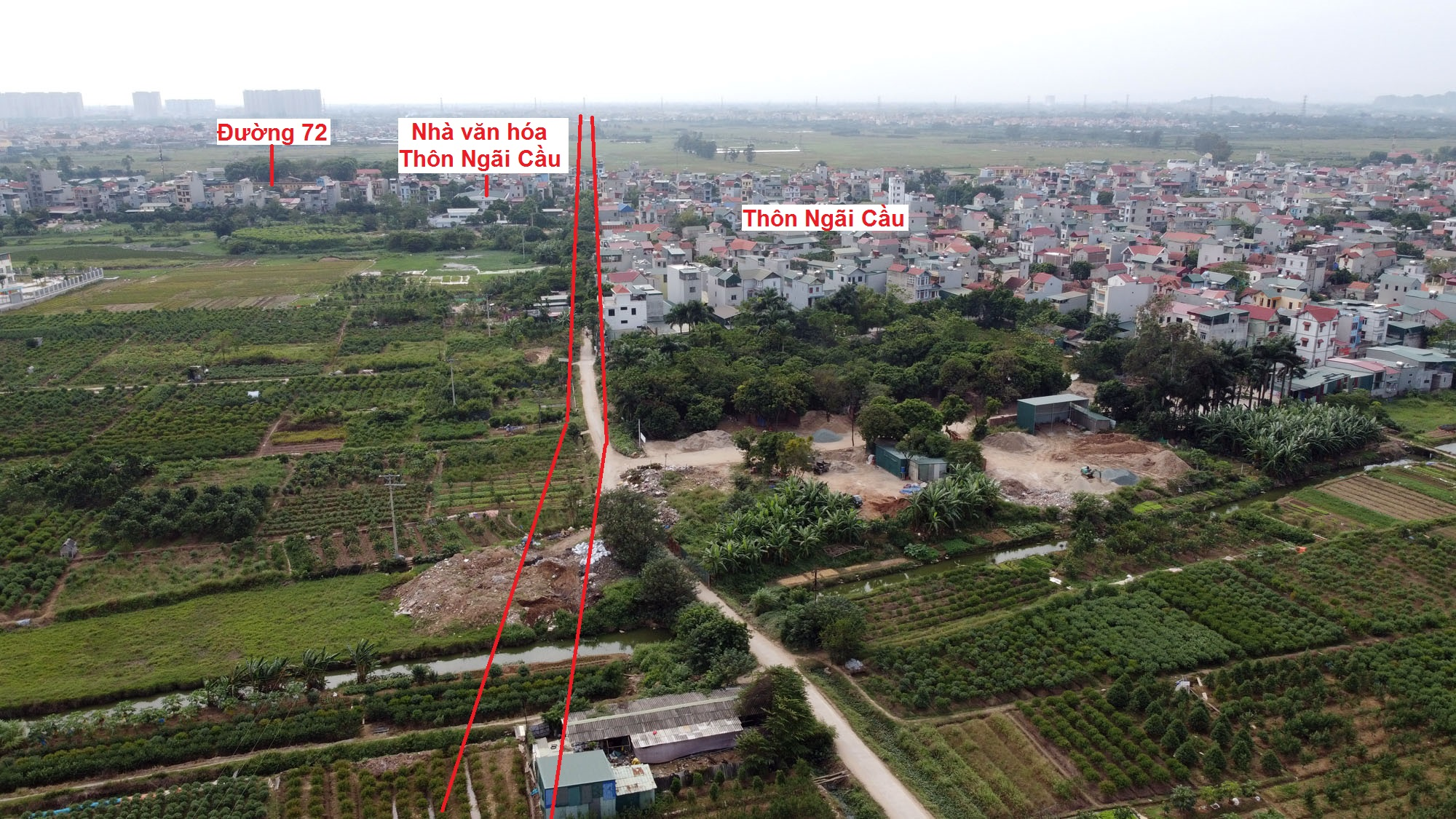 đường sẽ mở theo qui hoạch ở xã An Khánh, Hoài Đức, Hà Nội - Ảnh 16.
