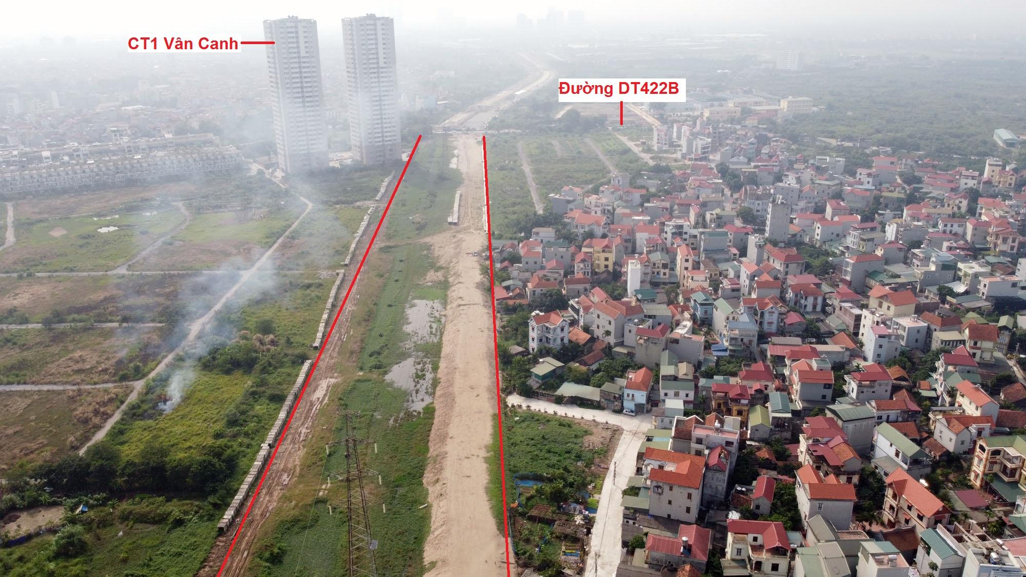 Ba đường sẽ mở theo qui hoạch ở xã Di Trạch, Hoài Đức, Hà Nội - Ảnh 3.