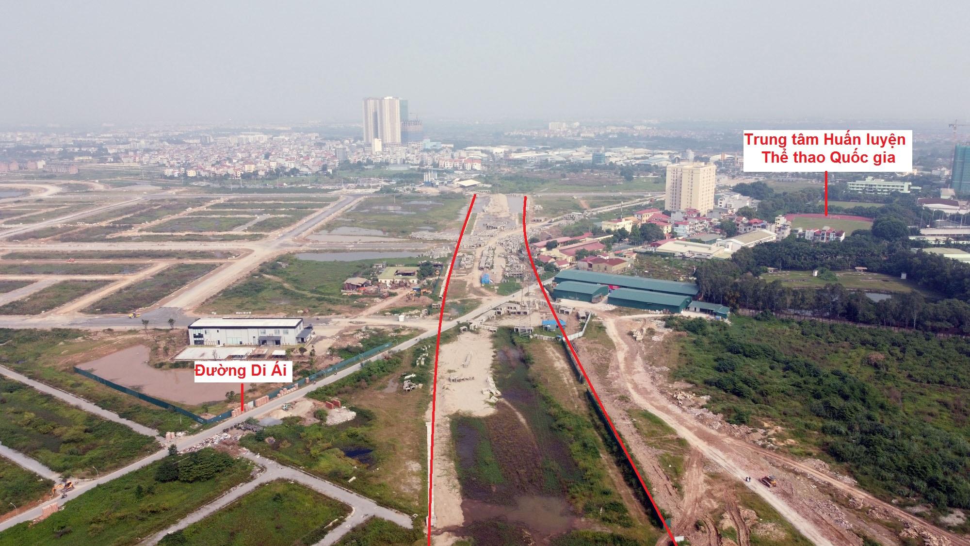 Ba đường sẽ mở theo qui hoạch ở xã Di Trạch, Hoài Đức, Hà Nội - Ảnh 4.