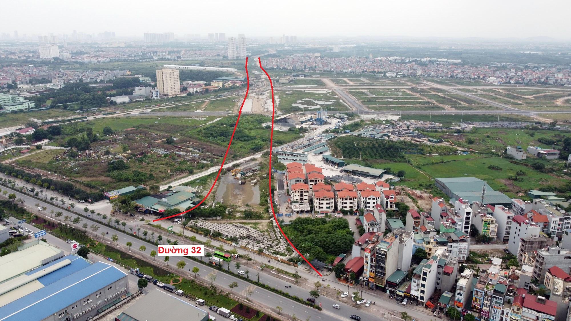 Ba đường sẽ mở theo qui hoạch ở xã Di Trạch, Hoài Đức, Hà Nội - Ảnh 5.