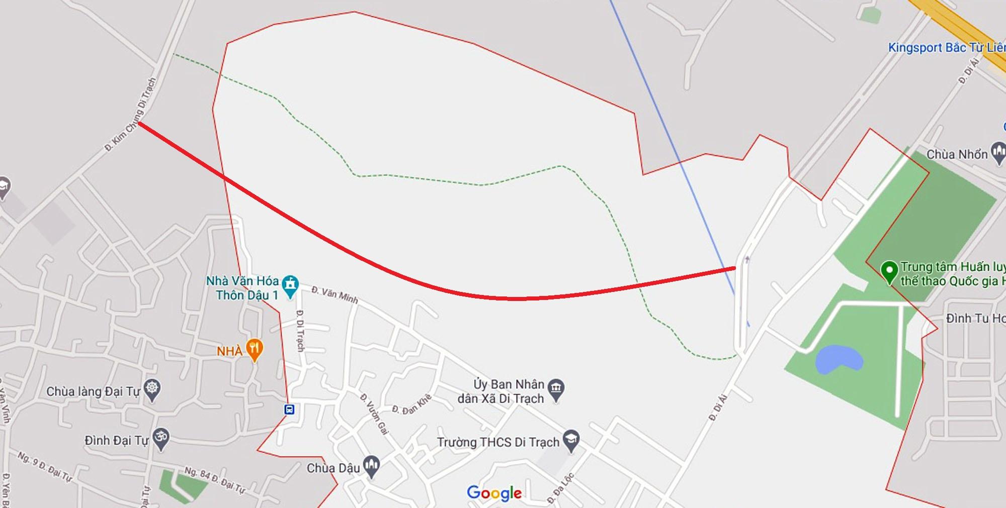 Ba đường sẽ mở theo qui hoạch ở xã Di Trạch, Hoài Đức, Hà Nội - Ảnh 10.
