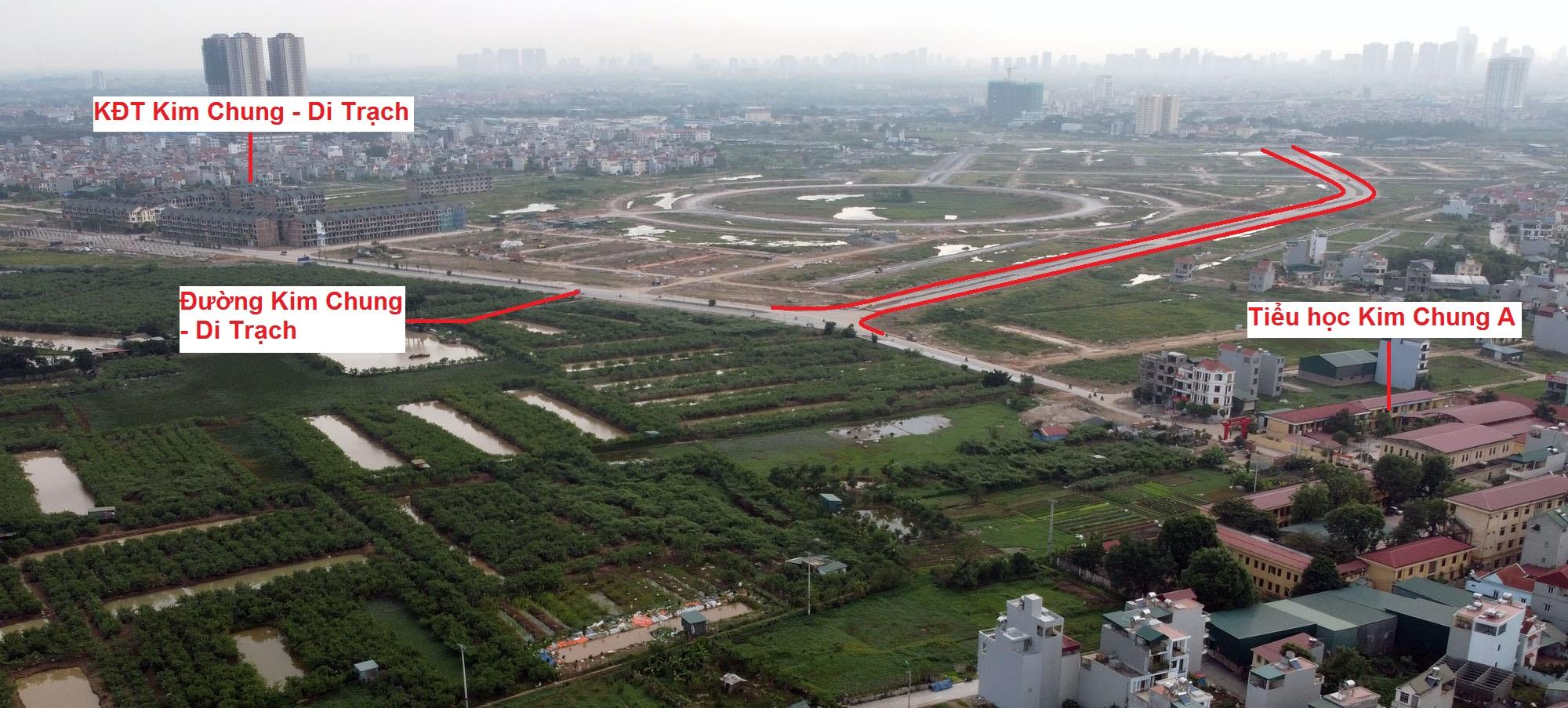 Ba đường sẽ mở theo qui hoạch ở xã Di Trạch, Hoài Đức, Hà Nội - Ảnh 12.