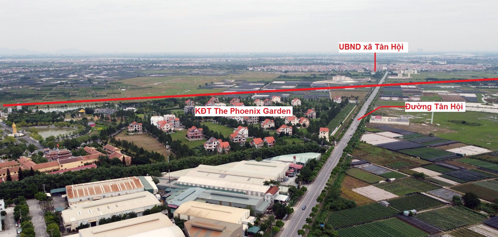 Ba đường sẽ mở theo qui hoạch ở xã Tân Hội, Đan Phượng, Hà Nội - Ảnh 5.