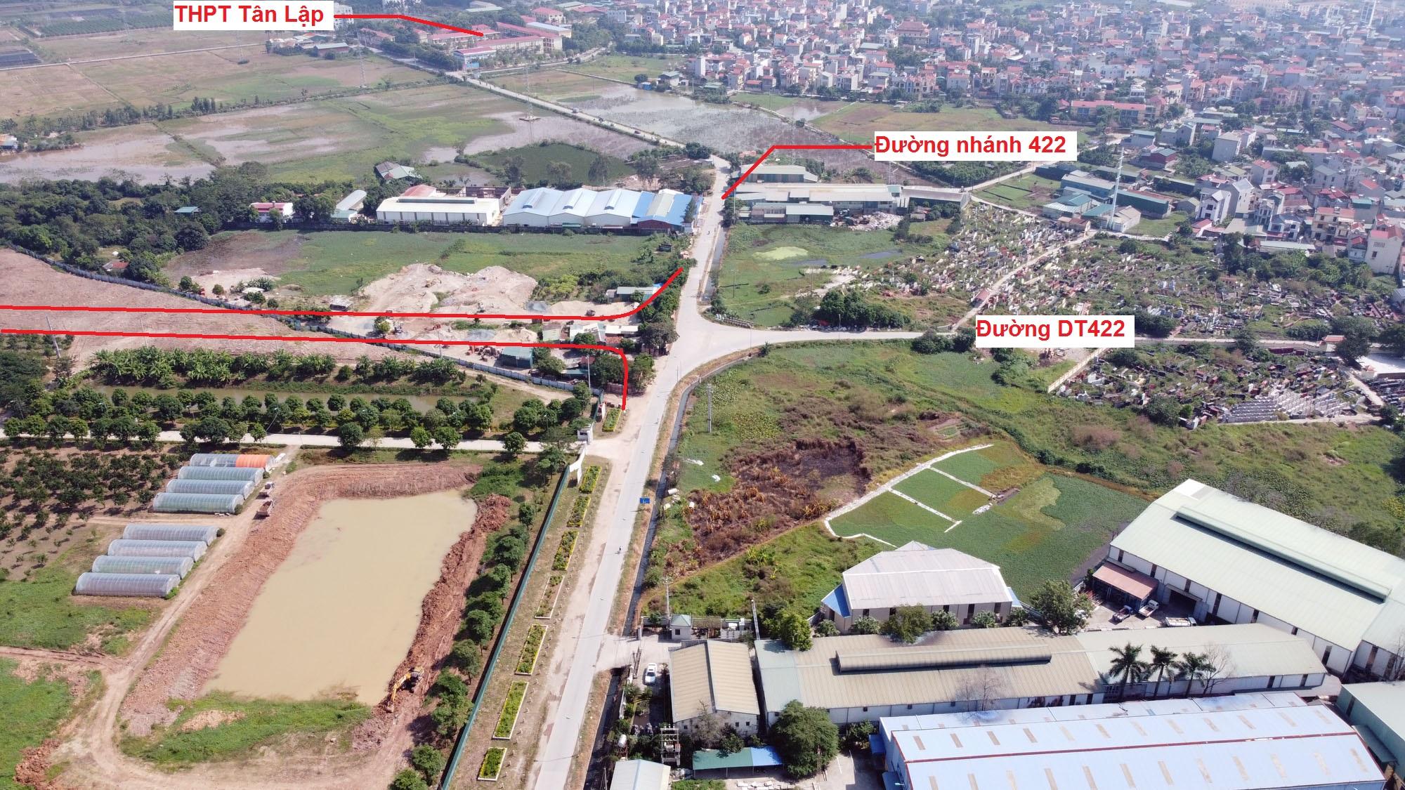 Ba đường sẽ mở theo qui hoạch ở xã Tân Hội, Đan Phượng, Hà Nội - Ảnh 7.