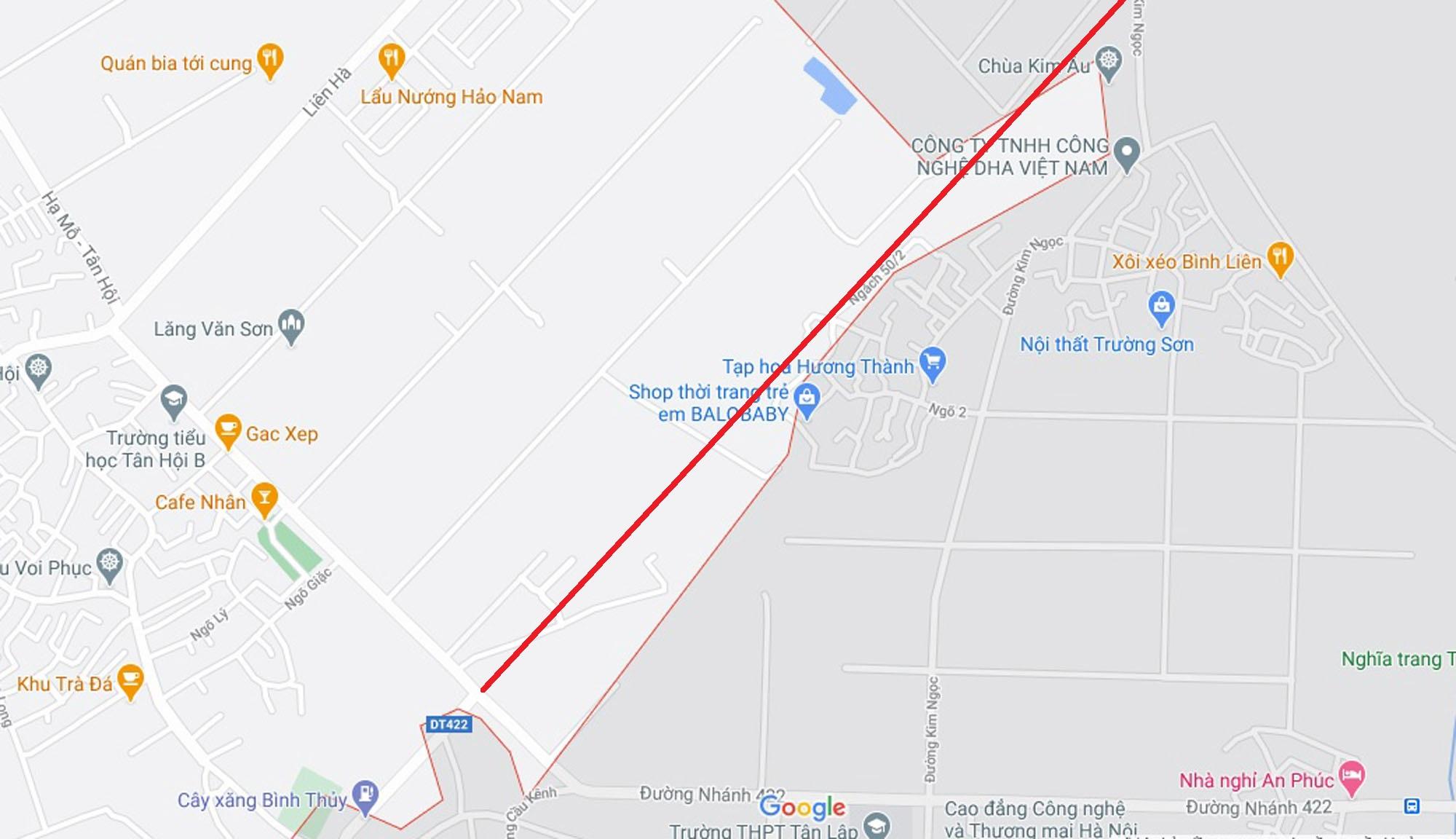 Ba đường sẽ mở theo qui hoạch ở xã Tân Hội, Đan Phượng, Hà Nội - Ảnh 6.