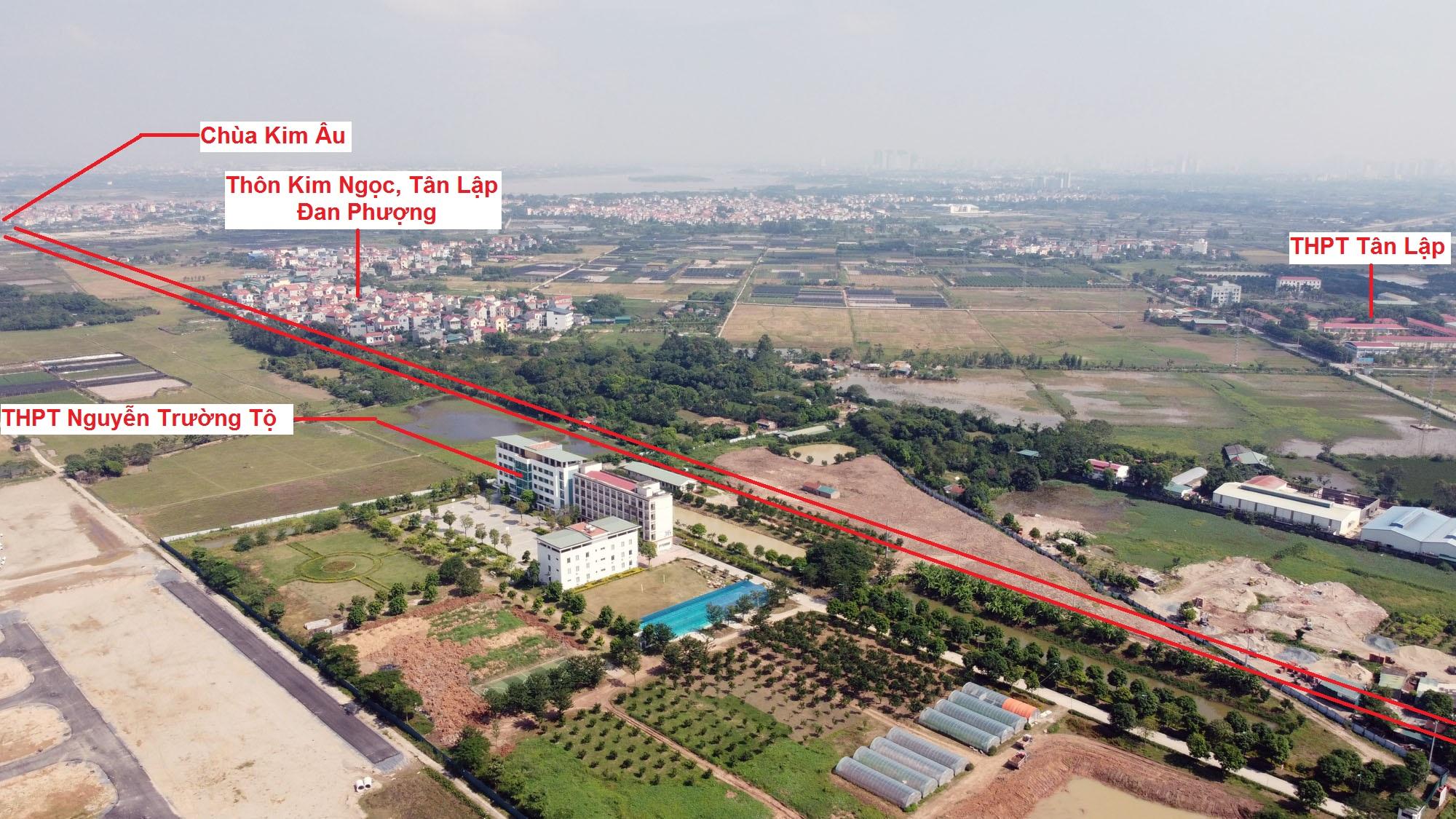 Ba đường sẽ mở theo qui hoạch ở xã Tân Hội, Đan Phượng, Hà Nội - Ảnh 8.