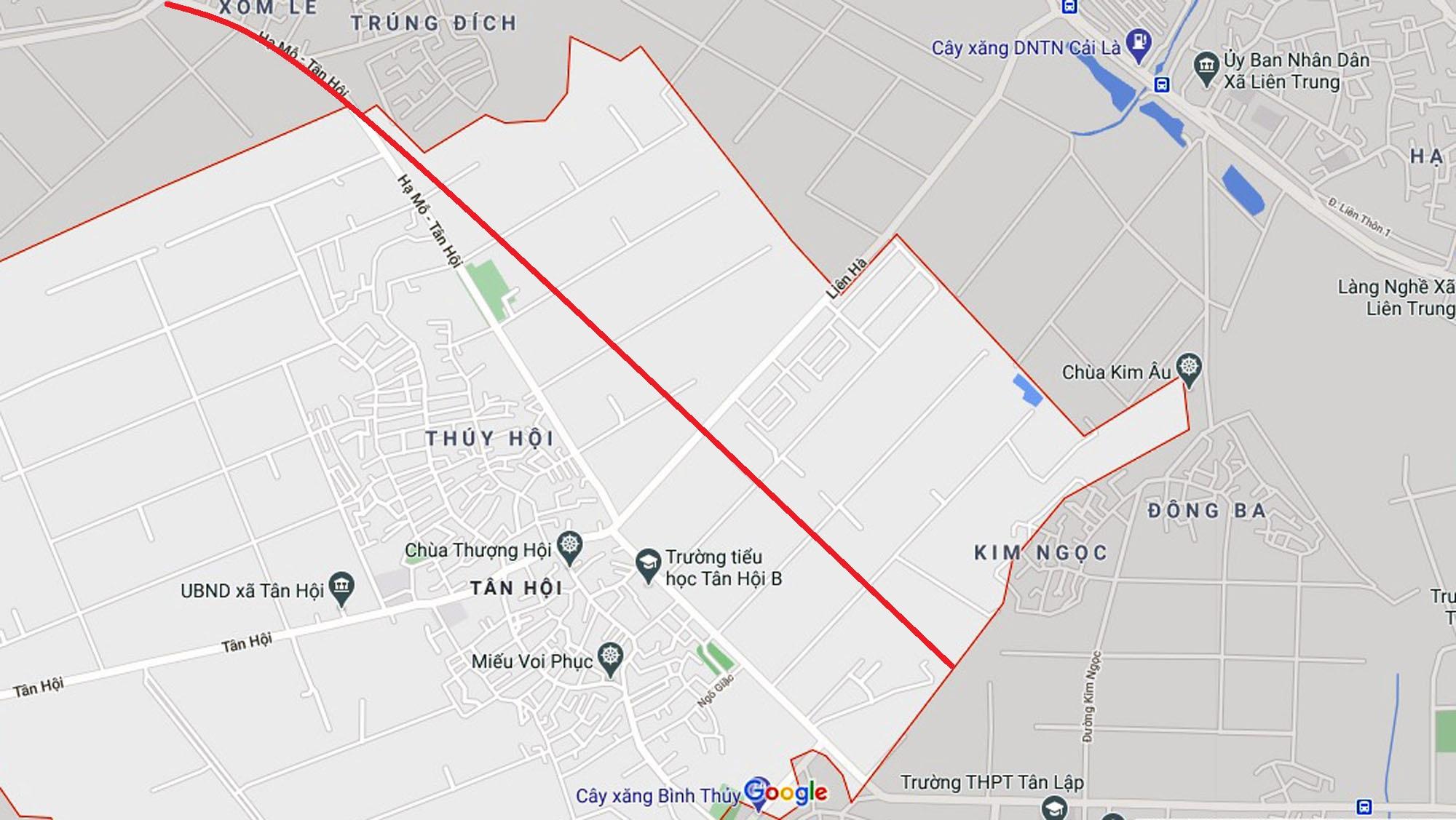 Ba đường sẽ mở theo qui hoạch ở xã Tân Hội, Đan Phượng, Hà Nội - Ảnh 9.