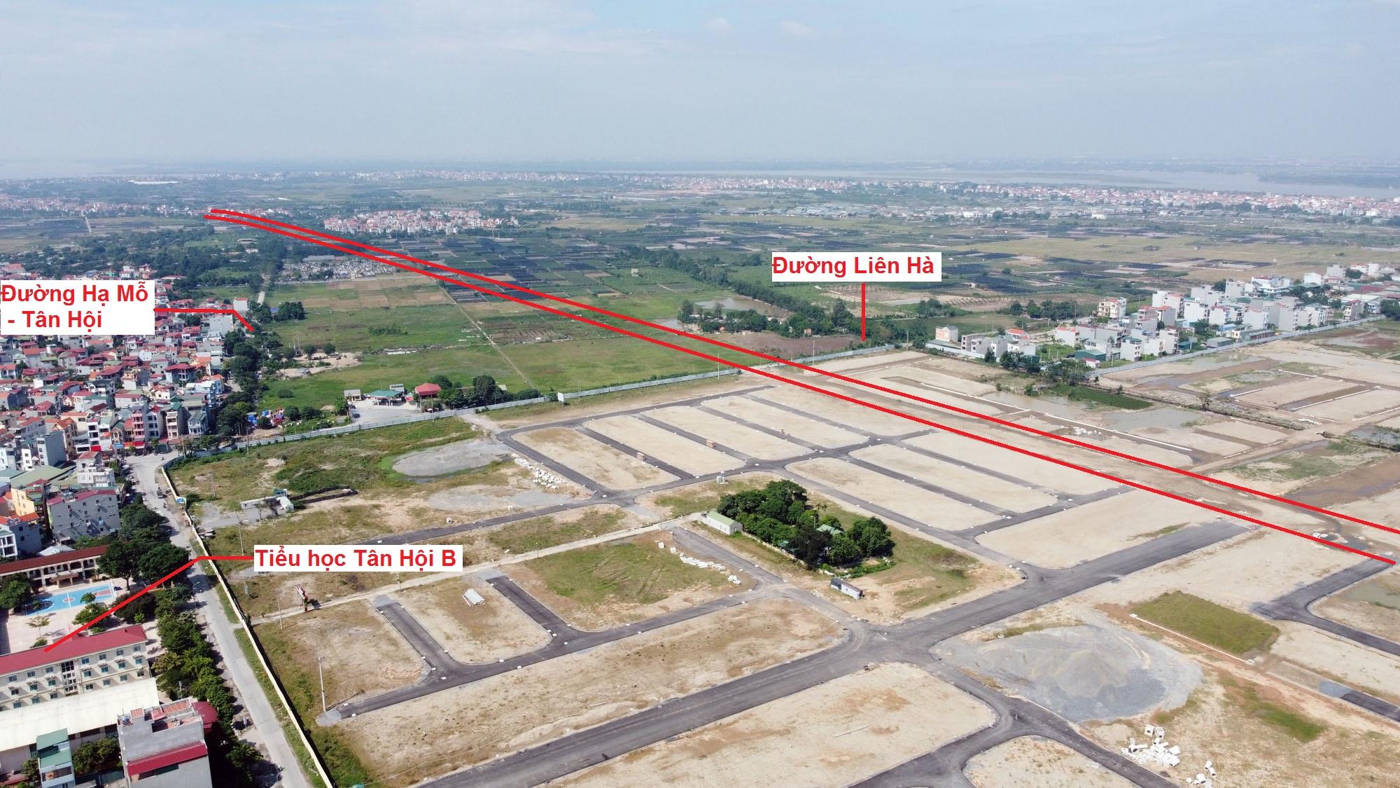 Ba đường sẽ mở theo qui hoạch ở xã Tân Hội, Đan Phượng, Hà Nội - Ảnh 12.