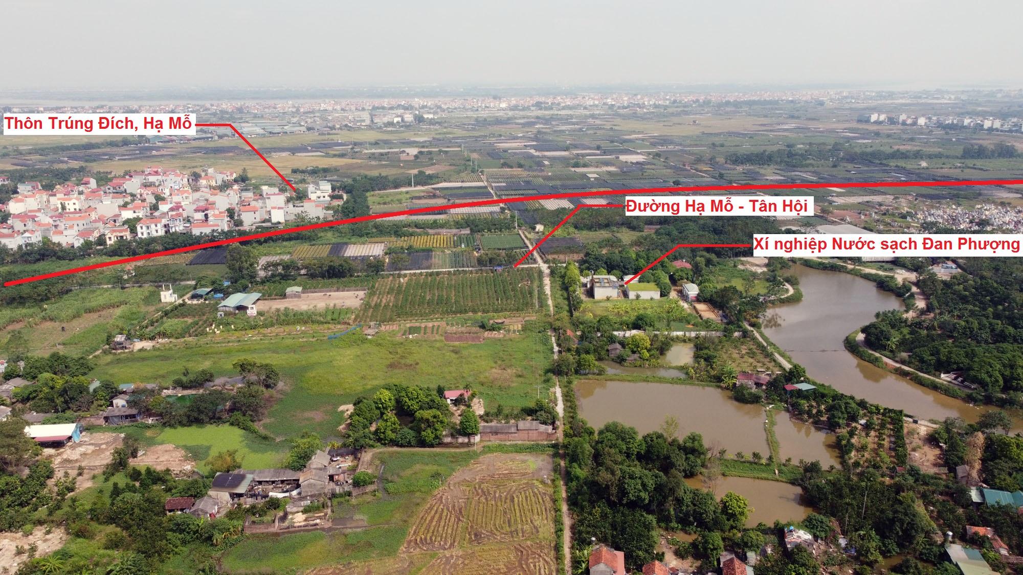 Ba đường sẽ mở theo qui hoạch ở xã Tân Hội, Đan Phượng, Hà Nội - Ảnh 13.