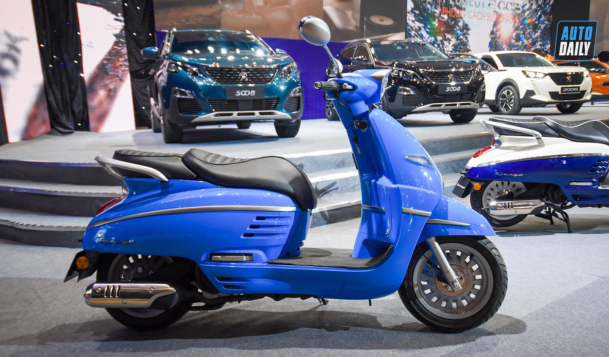 Xe máy Peugeot do Thaco sản xuất có gì đặc biệt để cạnh tranh với Vespa? - Ảnh 3.