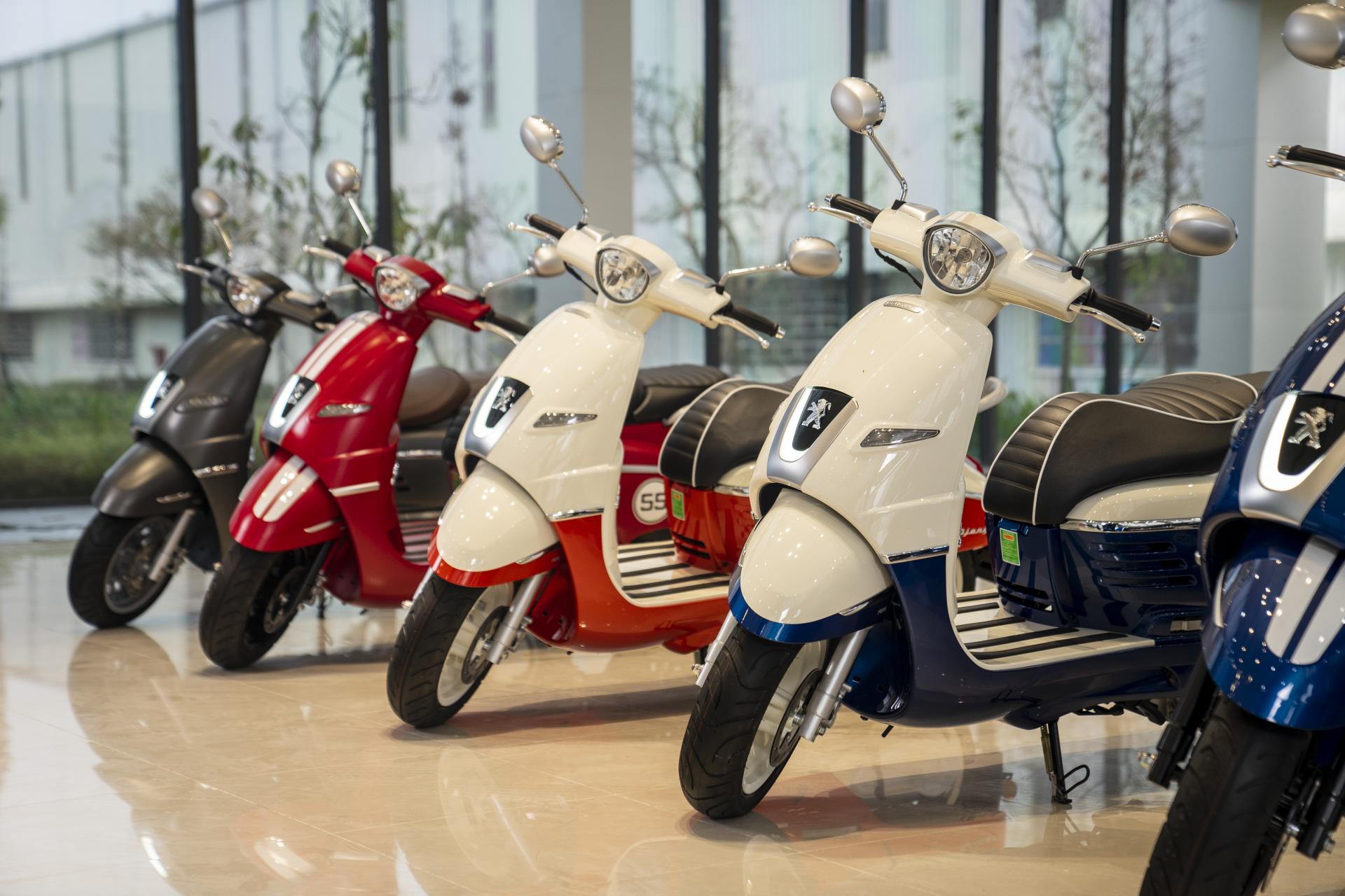 Thaco tham vọng xuất khẩu xe máy điện Peugeot sang thị trường ASEAN - Ảnh 2.