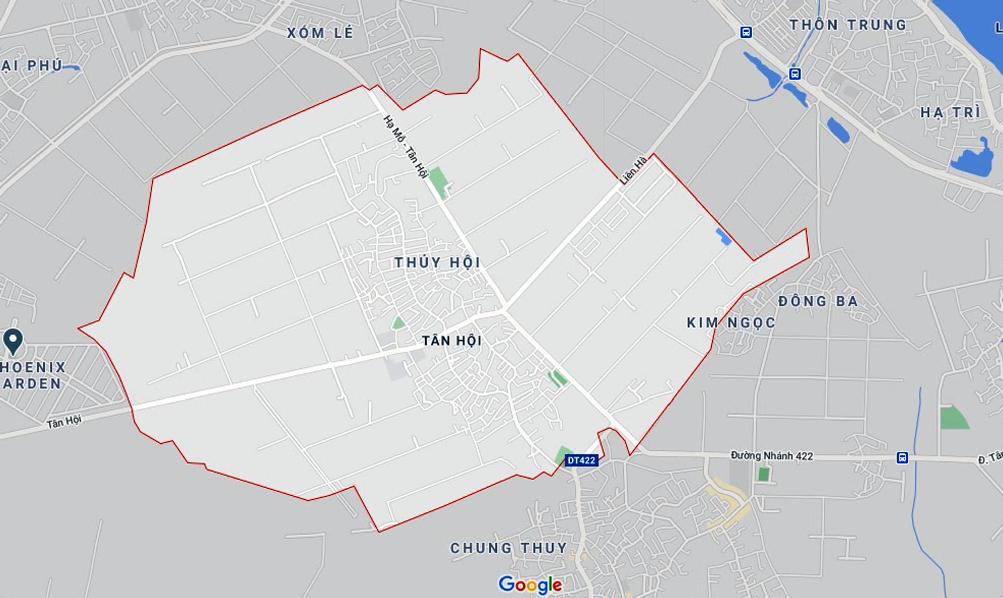Ba đường sẽ mở theo qui hoạch ở xã Tân Hội, Đan Phượng, Hà Nội - Ảnh 1.