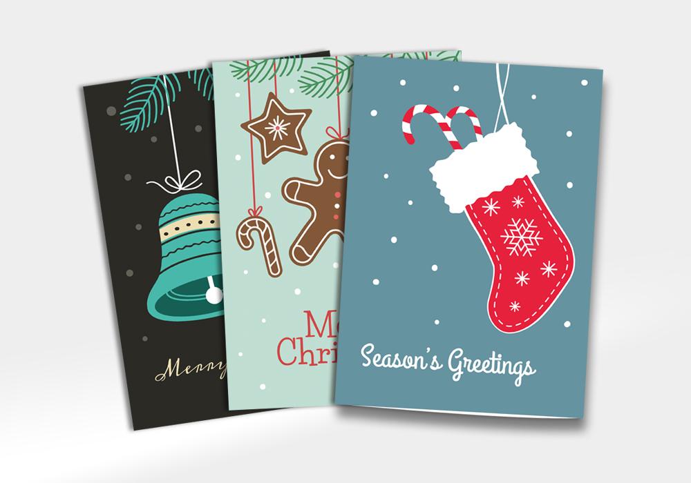 Bật mí những mẫu thiệp Giáng sinh ấn tượng để gửi gắm câu chúc an lành - Ảnh 14.
