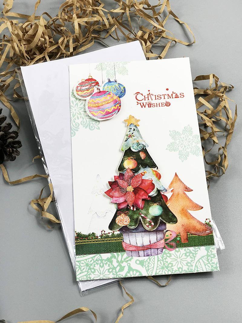 Bật mí những mẫu thiệp Giáng sinh ấn tượng để gửi gắm câu chúc an lành - Ảnh 19.