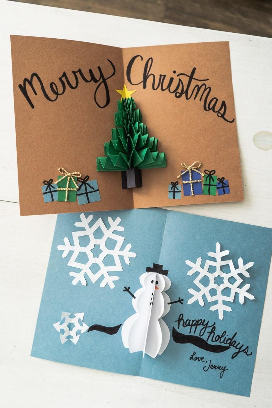 Bật mí những mẫu thiệp Giáng sinh ấn tượng để gửi gắm câu chúc an lành - Ảnh 18.