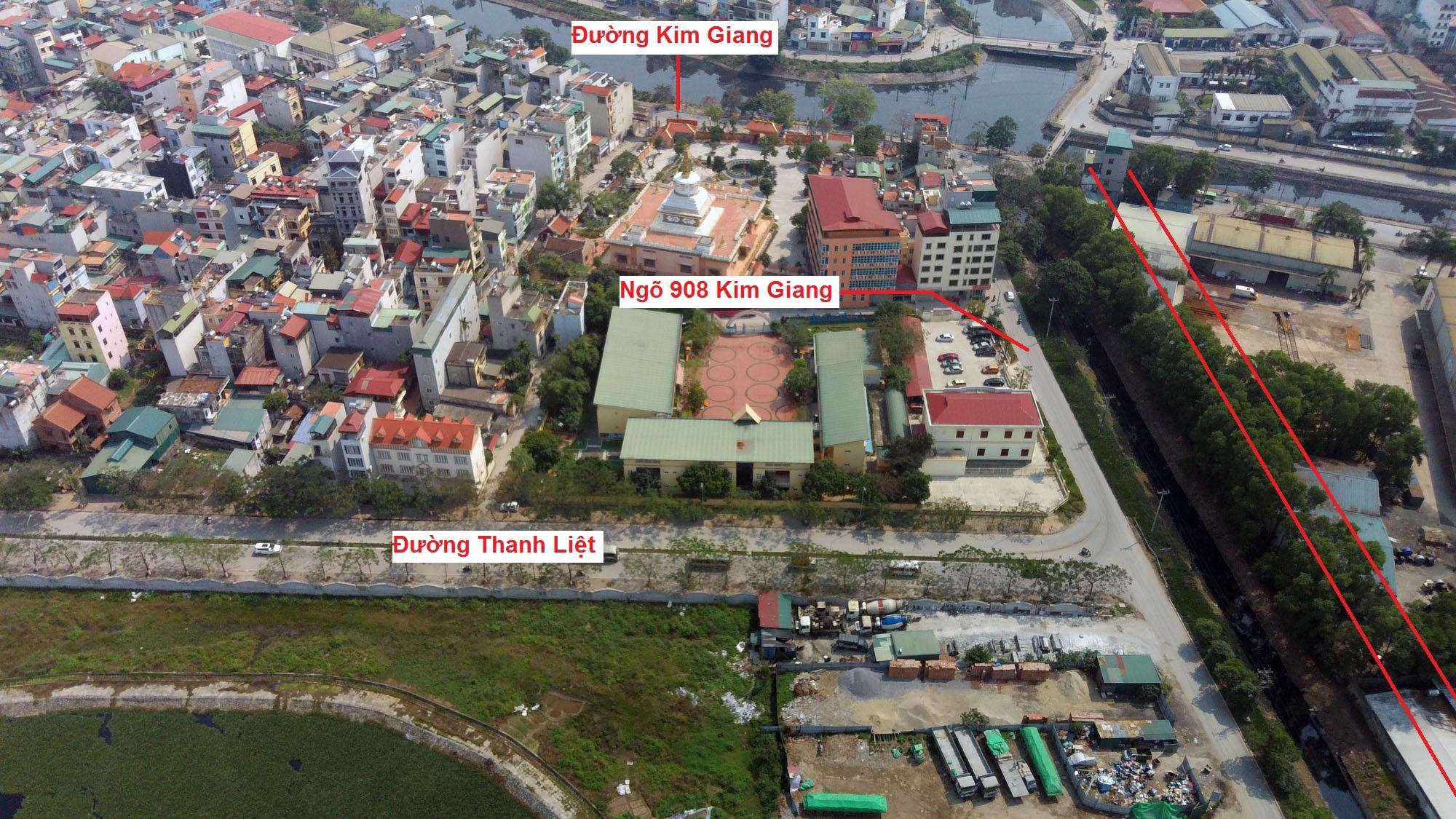 Ba đường sẽ mở theo qui hoạch ở xã Thanh Liệt, Thanh Trì, Hà Nội - Ảnh 3.